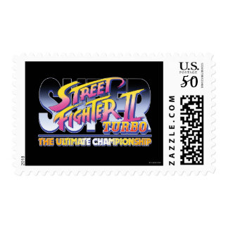 Street Fighter II Turbo UC Logo Postage