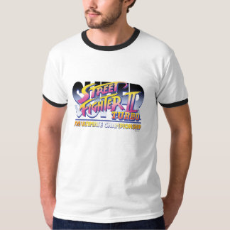Street Fighter II Turbo UC Logo T Shirt