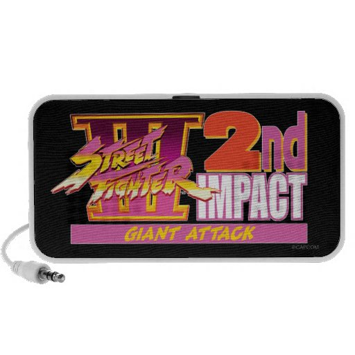 Street Fighter III 2nd Impact Logo Mp3 Speakers