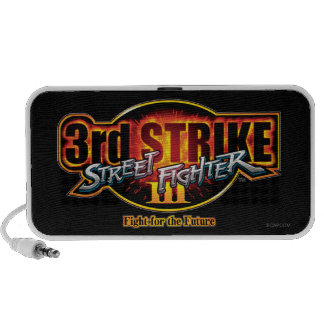 Street Fighter III 3rd Strike Logo Mini Speaker