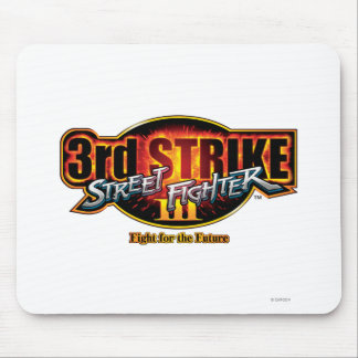 Street Fighter III 3rd Strike Logo Mouse Pad