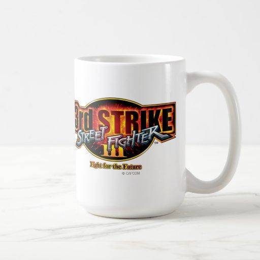 Street Fighter III 3rd Strike Logo Mug