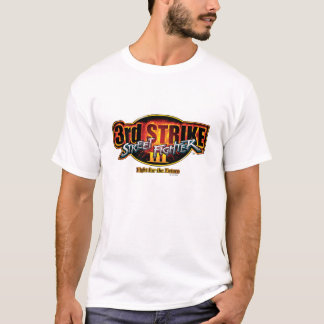 Street Fighter III 3rd Strike Logo T-Shirt