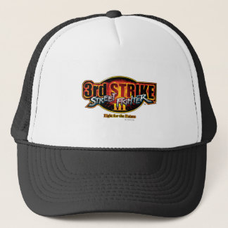 Street Fighter III 3rd Strike Logo Trucker Hat