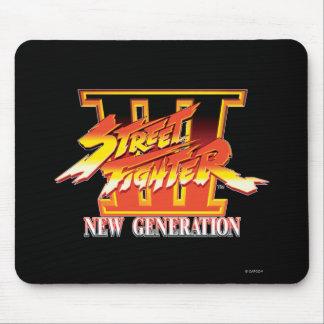 Street Fighter III New Generation Logo Mousepad