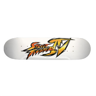 Street Fighter IV Logo Skateboard
