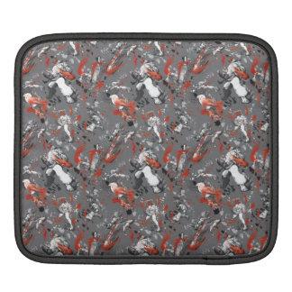 Street Fighter IV Pattern iPad Sleeves