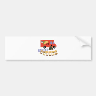 Street Foodie Car Bumper Sticker