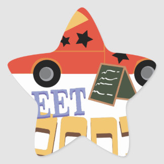 Street Foodie Star Sticker