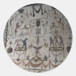 Street Frescos of Assisi Classic Round Sticker