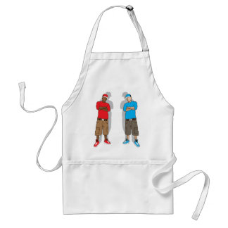 Street gangsters adult apron