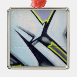 Street Graffiti Arrows Metal Ornament