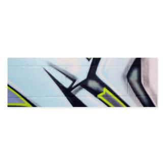 Street Graffiti Arrows Mini Business Card