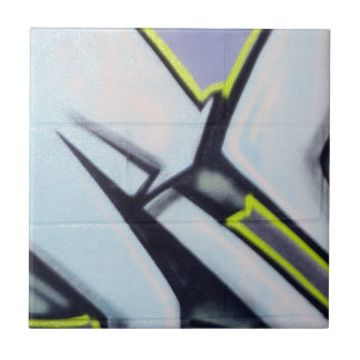 Street Graffiti Arrows Tile