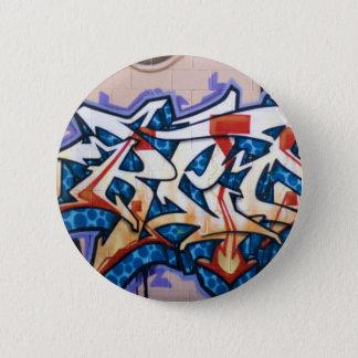 Street Graffiti Art Button