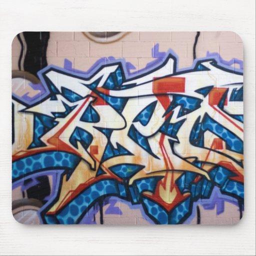 Street Graffiti Art Mouse Pad