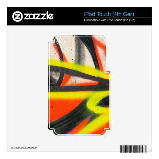 Street Graffiti Decals For iPod Touch 4G