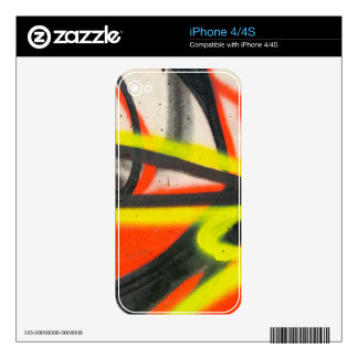 Street Graffiti Decals For The iPhone 4