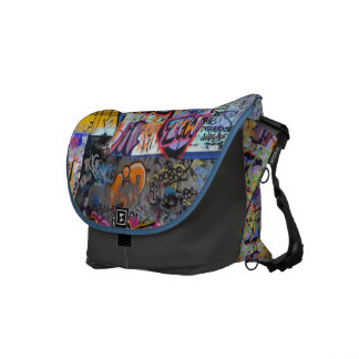 Street Graffiti Messenger Bag