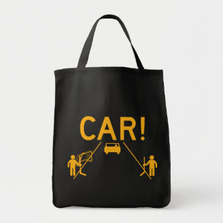 Street Hockey CAR Tote Bag