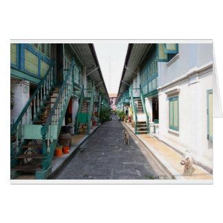 Street in Bangkok Card