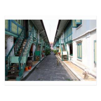 Street in Bangkok Postcard