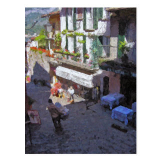 Street in Bellagio, Lake Como Postcard