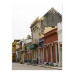 Street in Cartagena Postcard