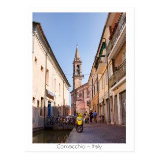 Street in Comacchio Postcard