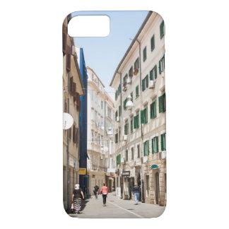 Street in Croatia Rjeka Europe iPhone 7 Case