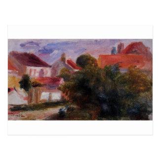 Street in Essoyes by Pierre-Auguste Renoir Postcard