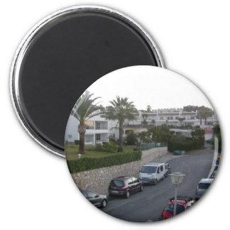 Street in La Riviera, Mijas Magnet