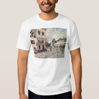 Street in Marly by Alfred Sisley T-shirts