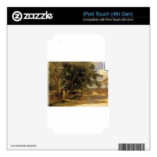 Street in Nassau by Albert Bierstadt Decals For iPod Touch 4G