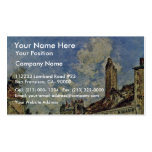 Street In Nevers By Jongkind Johan Barthold (Best Business Card Template