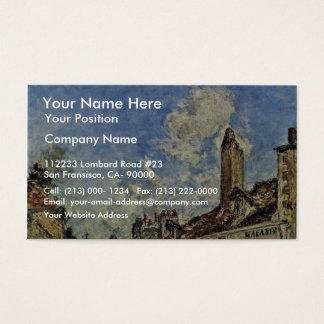 Street In Nevers By Jongkind Johan Barthold (Best Business Card
