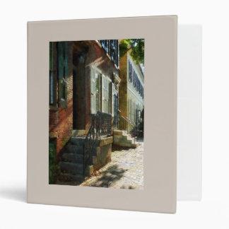 Street in New Castle Delaware Binder