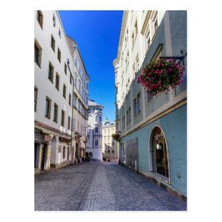 Street in old city, Linz, Austria Postcard