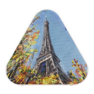 Street In Paris - Illustration Bluetooth Speaker