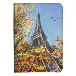 Street In Paris - Illustration Kindle Touch Cover