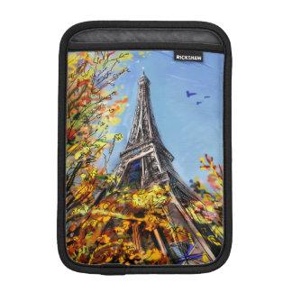 Street In Paris - Illustration iPad Mini Sleeves