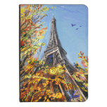 Street In Paris - Illustration Kindle Touch Case