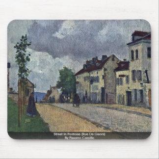 Street In Pontoise (Rue De Gisors) Mouse Pad