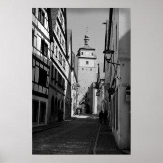 street in regensburg posters