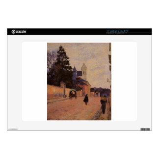 Street in Rouen by Paul Gauguin Laptop Decals