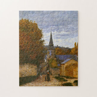 Street in Sainte-Adresse Monet Fine Art Jigsaw Puzzle
