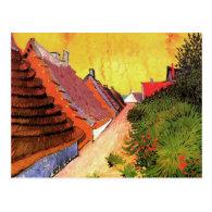 Street in Saintes-Maries by Vincent van Gogh Postcards