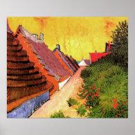 Street in Saintes-Maries by Vincent van Gogh Poster