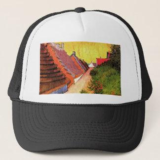 Street in Saintes-Maries by Vincent van Gogh Trucker Hat