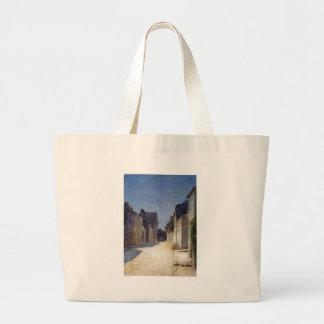 Street in Samois by Odilon Redon Jumbo Tote Bag